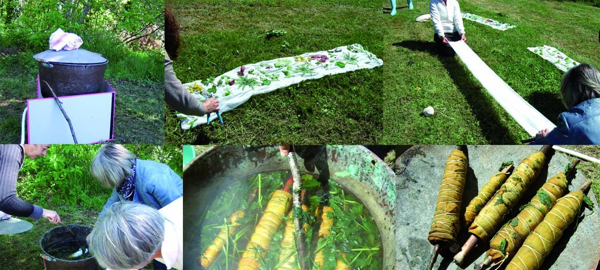 premier atelier Vert Soi de mapie des vignes,