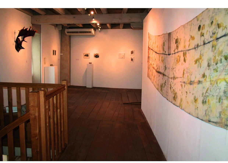 """exposition """"entre art et métier d'art"""" au Moulin des Arts."""